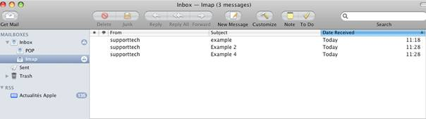 how to delete email accounts on mac os x